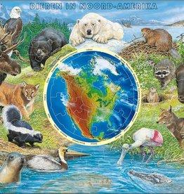 Larsen Puzzel Dieren in Noord-Amerika