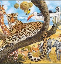 Larsen Puzzel Wilde dieren op de prairie