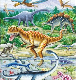 Larsen Puzzel Dinosaurussen in het wild