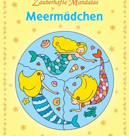 Loewe Kleurboeken Mandala Kleurboek Zeemeerminnen