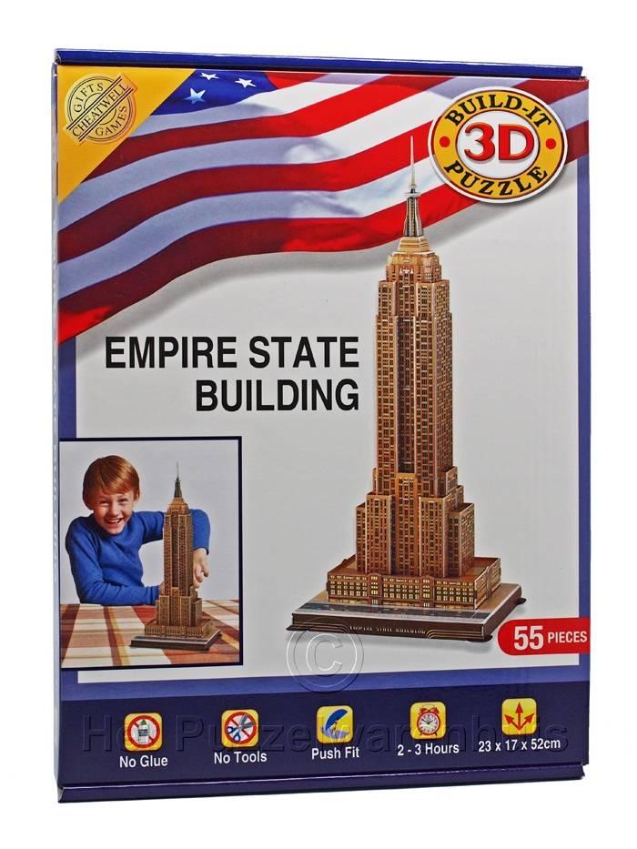 Cheatwell 3D Puzzel Empire State Building (vanaf 8 jaar)