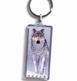 Royce 3D Sleutelhanger Flip Tijger Wolf