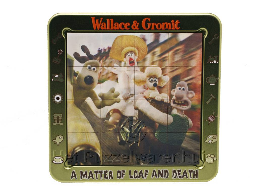 Cheatwell 3D Wallace & Gromit A Matter of Loaf and Death (8-108 jr)