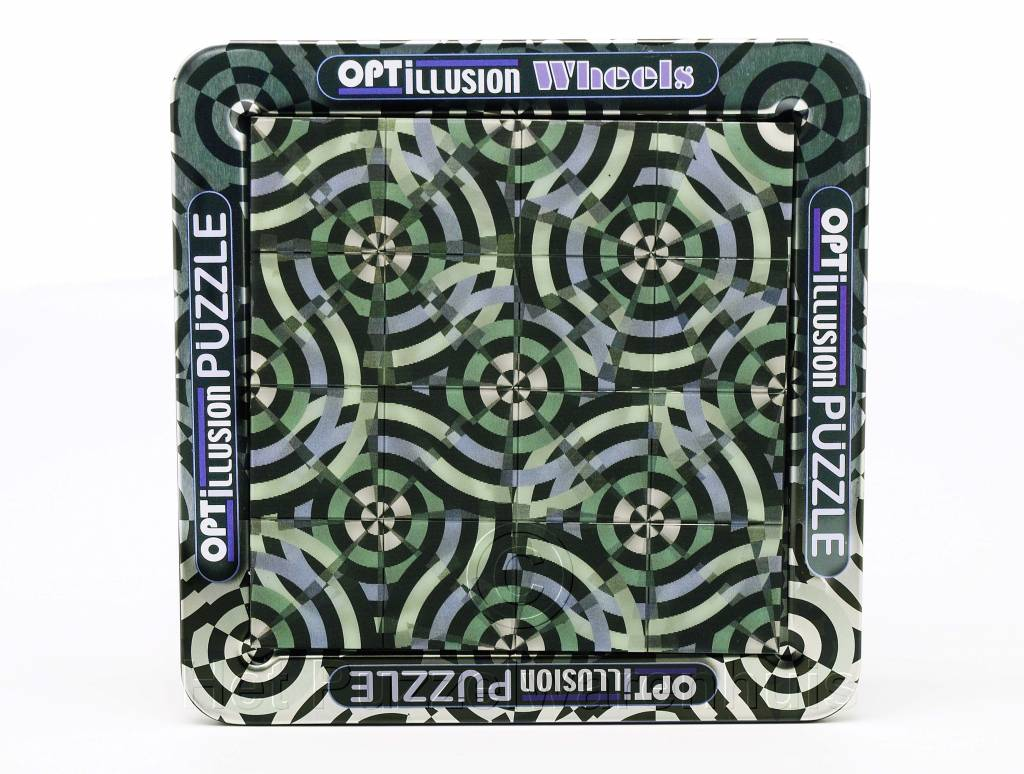 Cheatwell 3D Optillusion Wheels (van 8-108 jaar)