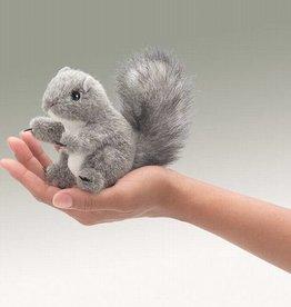 Folkmanis 'Atletische Lynn' het grijze eekhoorntje vingerpop