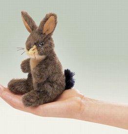 Folkmanis 'Kleine Mitch' het konijn vingerpop