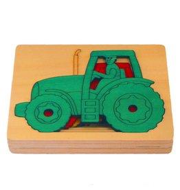 George Luck Tractoren vijf lagen puzzel