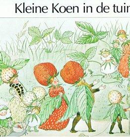 Christofoor Kleine Koen in de tuin