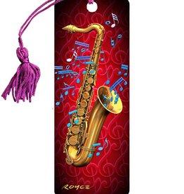 Royce 3D Boekenlegger Saxofoon