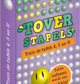 PW Educatief Toverstapels Train de tafels 4,5 en 8!