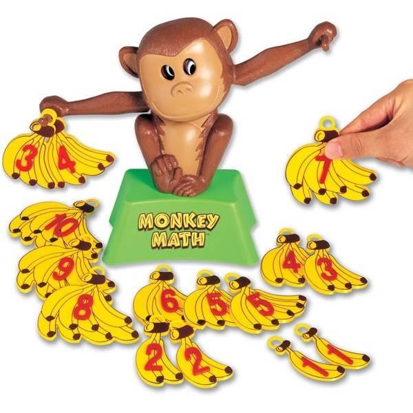 Monkey Math spel