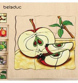 Beleduc 5 - Lagenpuzzel Appel vanaf 3 jaar