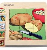 Beleduc 5 - Lagenpuzzel Aardappel vanaf 3 jaar