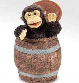 Folkmanis 'Plagerige George' het aapje handpop