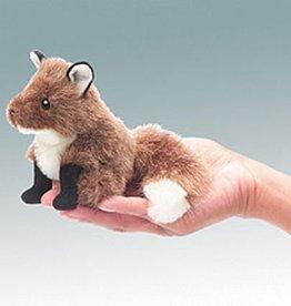 Folkmanis 'Sluwe Hendrik' de mini vos vingerpop