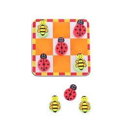 PW Educatief Drie op een rij met Lieveheersbeestjes en Bijen 3 jr.
