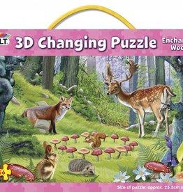 Galt 3D Puzzel Het betoverende bos vanaf 6-12 jaar