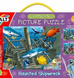 Galt 3D puzzel Het spookachtig scheepswrak 6-12 jr