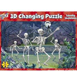 Galt 3D puzzel Spookachtige Skeletten vanaf 6-12 jr