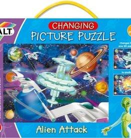Galt 3D Puzzel Alien attack vanaf 6-12 jaar