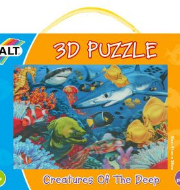 Galt 3D puzzel Dieren uit de diepzee vanaf 6 jaar