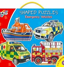 Galt Vormenpuzzels Hulpvoertuigen vanaf 2,5-4 jaar