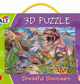 Galt 3D Puzzel Tussen de Dinosaurussen vanaf 6 jr.