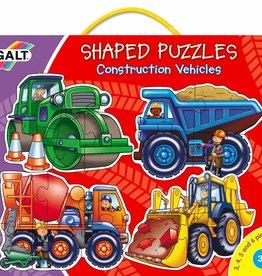 Galt Vormenpuzzels Bouwvoertuigen vanaf 2,5-4 jaar
