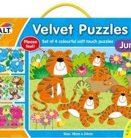 Galt Fluwelen puzzel Jungle vanaf 3-6 jr
