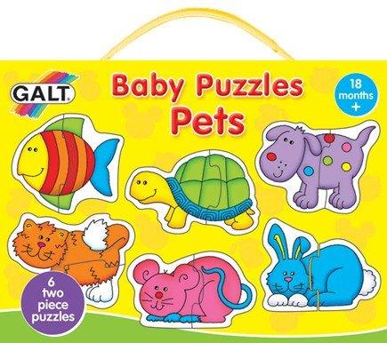 Galt Baby puzzels Huisdieren vanaf 1,5 jaar