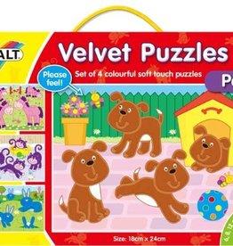 Galt Fluwelen puzzel Huisdieren vanaf 3 jr.