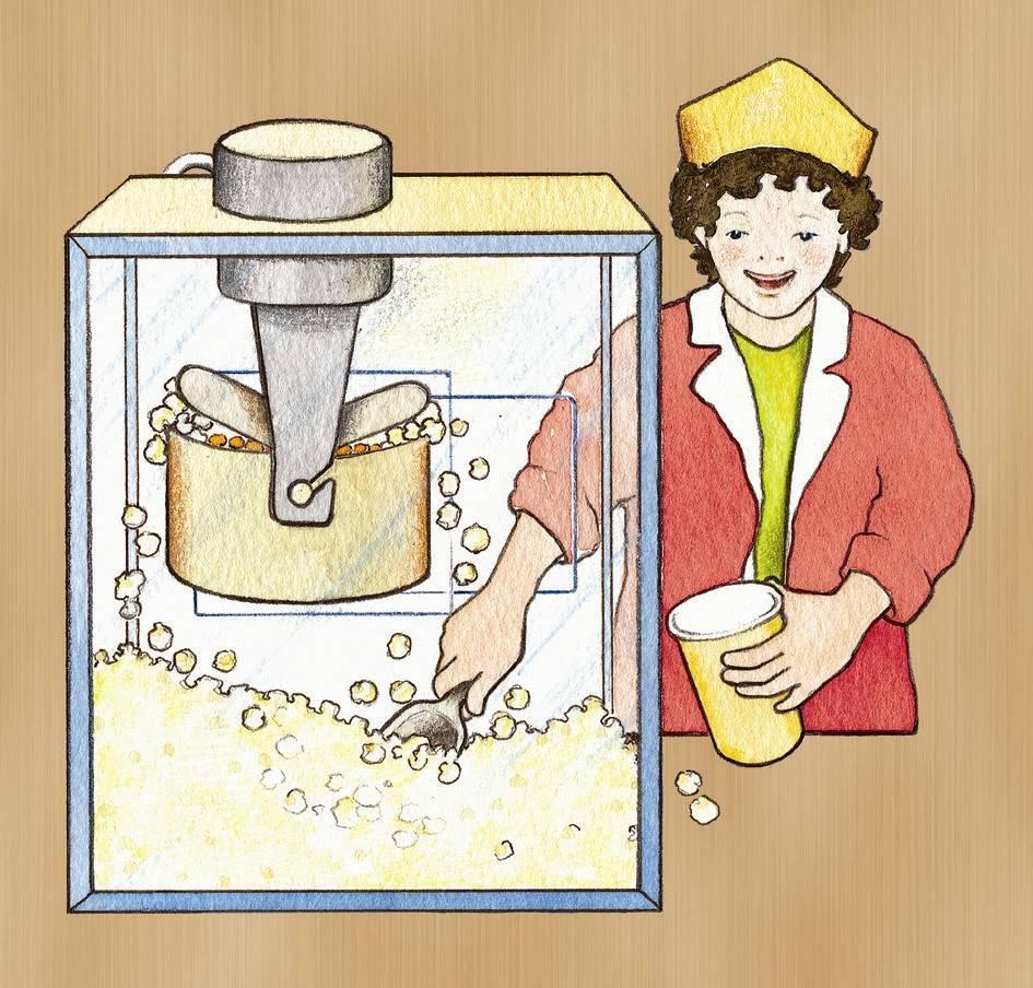 Beleduc Van mais tot popcorn 5-lagen puzzel  4-8 jaar