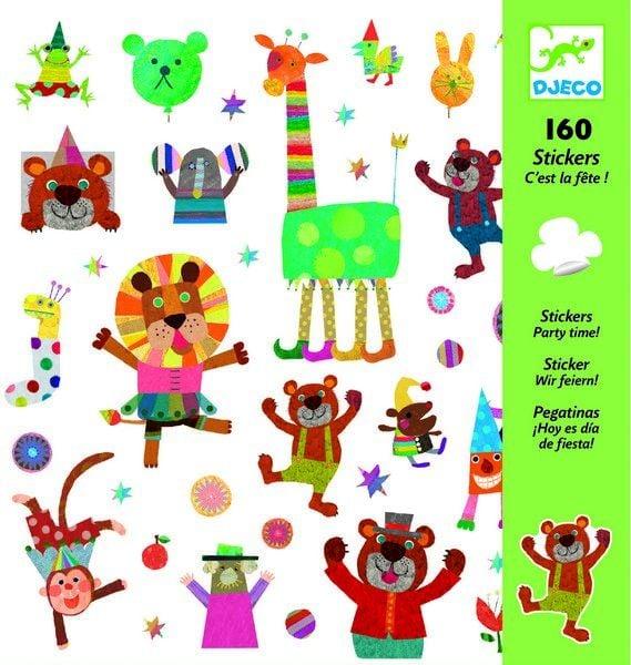 Djeco Stickers Het is feest! vanaf 4-8 jaar