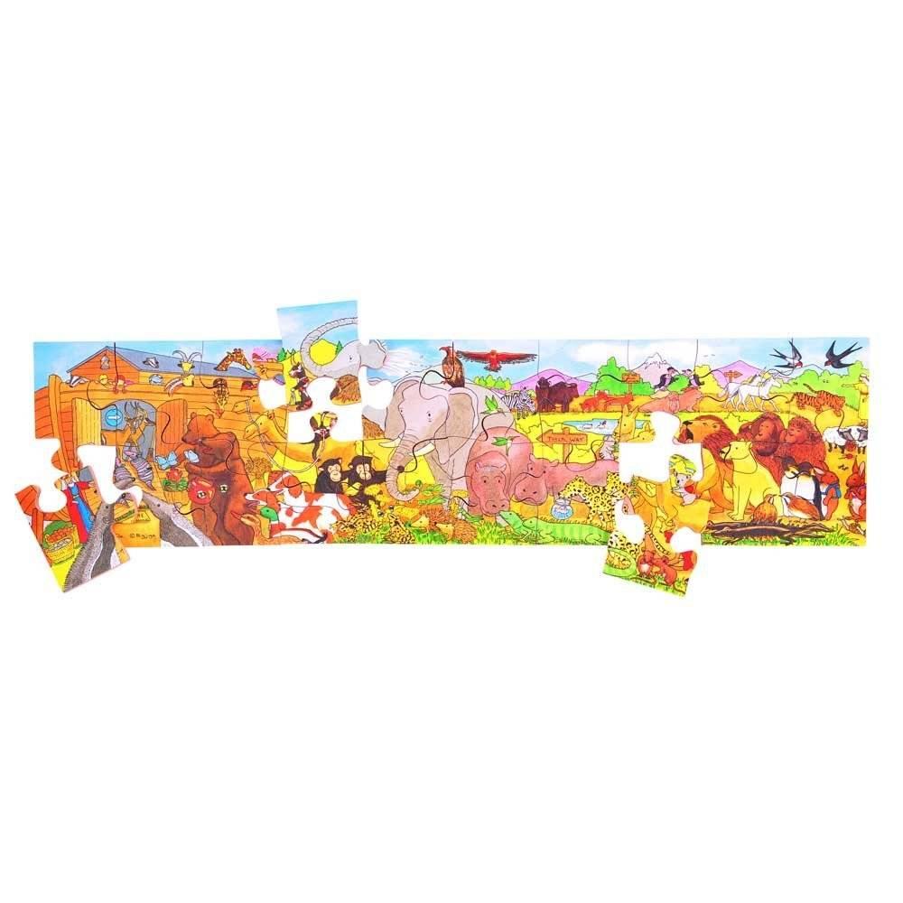 Bigjigs Panorama puzzel de Ark van Noach vanaf 2-5 jr.