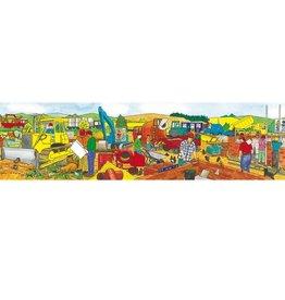 Bigjigs Panorama puzzel Bouwplaats vanaf 2-5 jaar