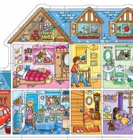 PW Educatief Praat- puzzel Poppenhuis vanaf 3-6 jaar