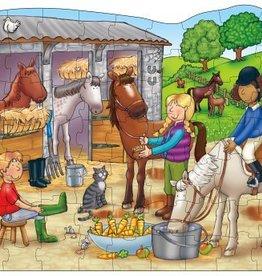PW Educatief Praat-puzzel  Manege vanaf 4-7 jaar