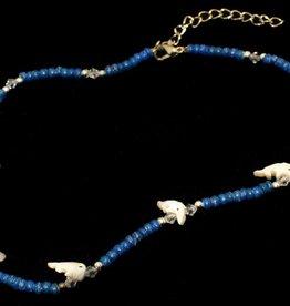 Collier Dolfijn donkerblauw vanaf 4-7 jaar