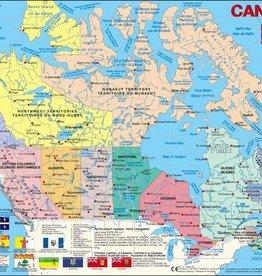 Larsen Puzzel Canada staatkundig (vanaf 8 jaar)