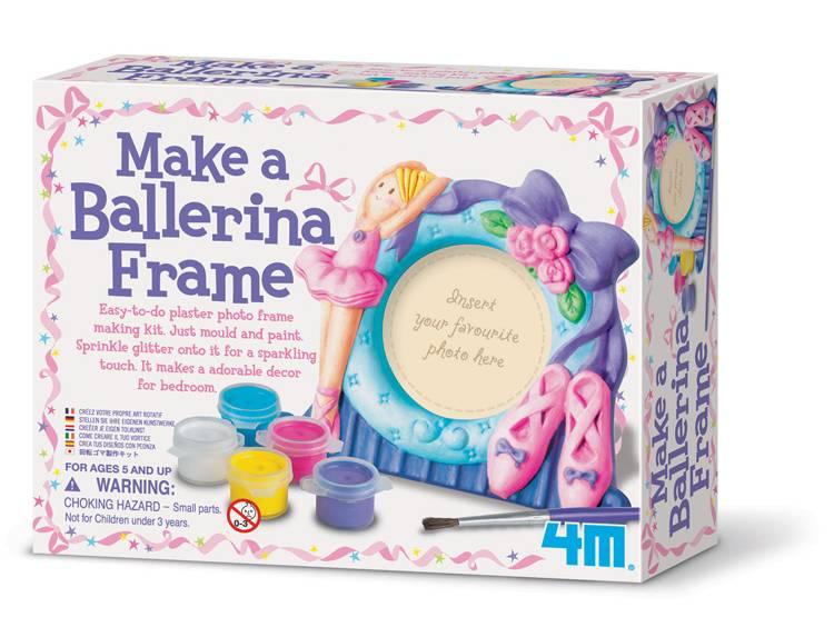 4M Knutsel je eigen ballerina fotolijst (vanaf 5 jaar)