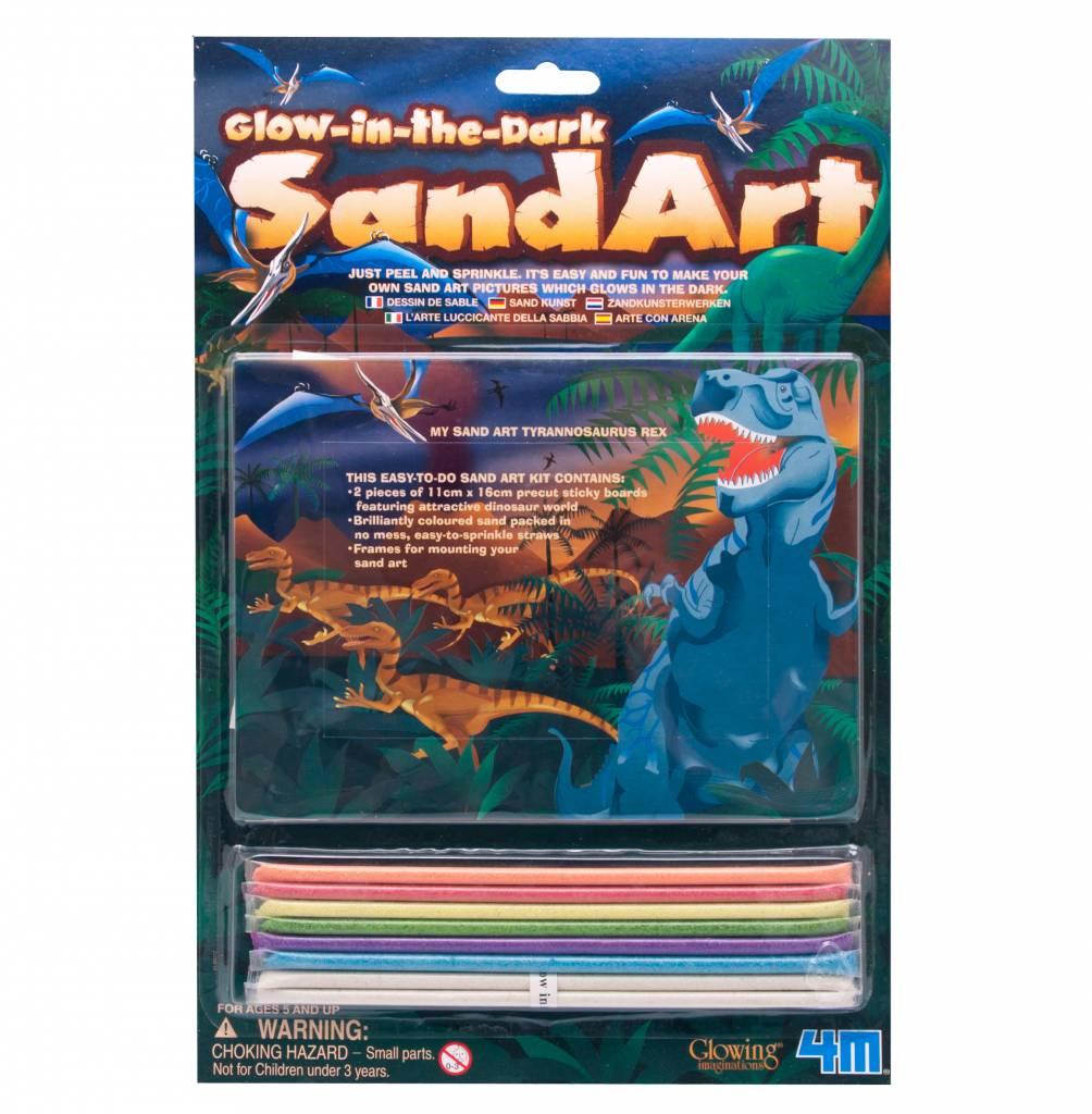 4M Zandkunst Dinosauriër
