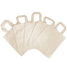 PW Educatief Katoenen tas set van 5 stuks