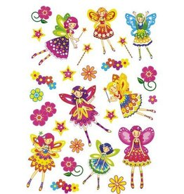 PW Educatief Textieltattoos Meisjes vanaf 3 tot 7 jaar