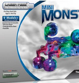 PW Educatief Laser Pegs Mini Monster Bug vanaf 5-99 jaar