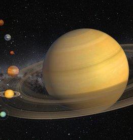 PW Educatief Ansichtkaart 3D Saturnus vanaf 4-99 jaar