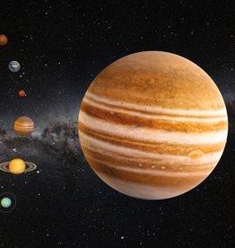 PW Educatief Ansichtkaart 3D Jupiter vanaf 4-99 jaar