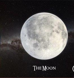 PW Educatief 3D Ansichtkaart De Maan vanaf 4-99 jaar