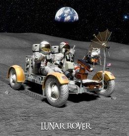 PW Educatief 3D ansichtkaart Lunar Rover vanaf 4-99 jaar