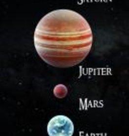 PW Educatief 3D Boekenlegger Solar system vanaf 4-99 jaar