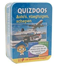 PW Educatief Quizdoos auto, vliegtuig en schepen